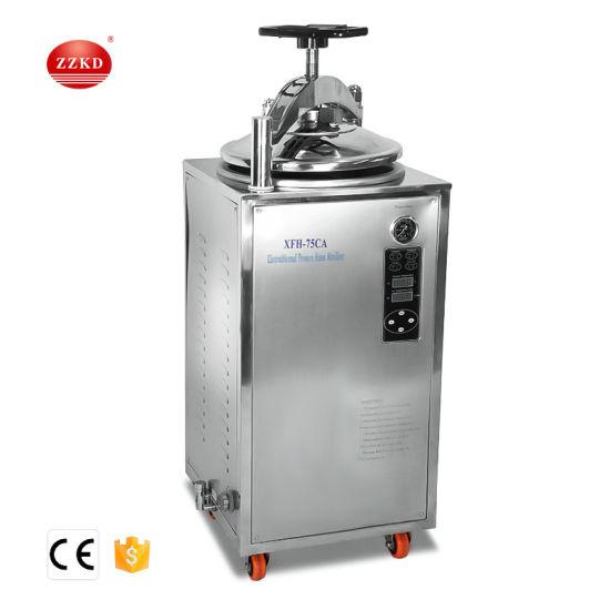 Stainless Steel Vertical Steam Autoclave Sterilizer Machine Price