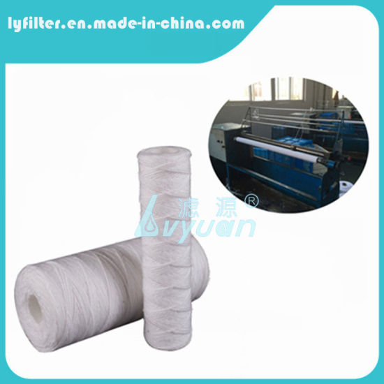 """10"""" PP Yarn String Wound Filter Cartridge for RO Pretreatment"""