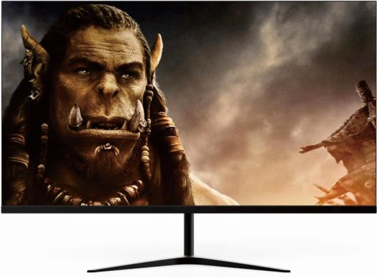 27 inch Frameless Ultra-Slim LED Game Monitor for Desktop and Home FHD 1080P 75Hz --TV & Monitor Factory