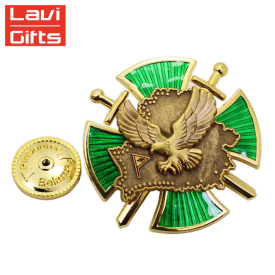 Promotional Items Factory Price Custom Military Medal Pin Metal Badge
