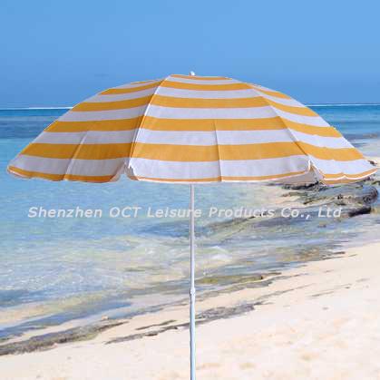 TNT Beach Umbrella with Stripe Design (OCT-BUT14)