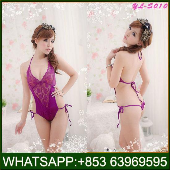 Sexy Lace Sleepwear Cheap Wholesale Underwear Hot Lady Lingerie
