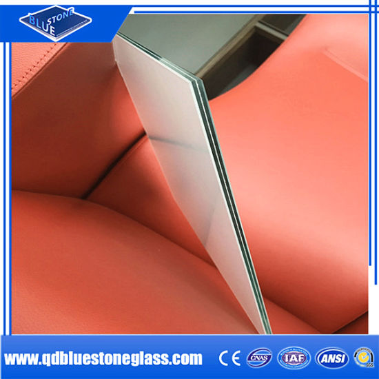 3+0.38+3mm Safety Laminated Glass for Building with Ce&ISO