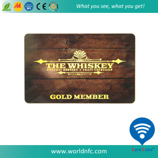 915MHz Ultra-High Frequency Contactless Smart Card with H3 Chip pictures & photos