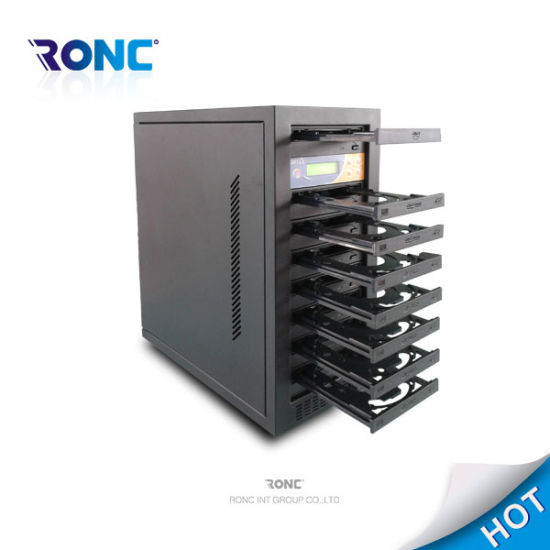 1 by 7PCS Tower CD/DVD Copy Machine CD Replicator