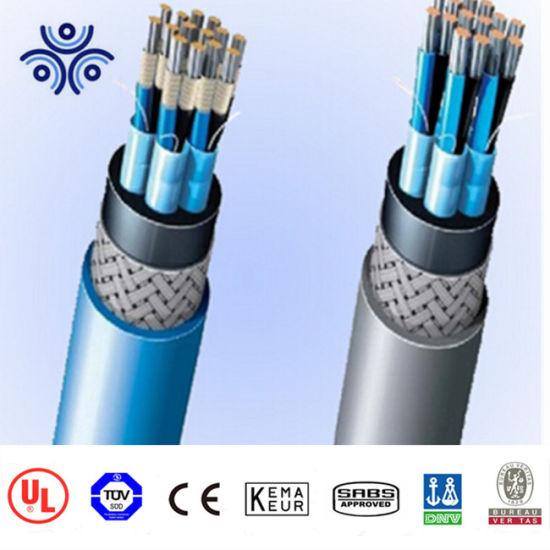 China Epr Insulated Xlpo Bare Galvanized Steel Wire Braiding Armored ...