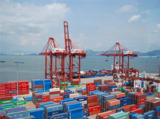 China Maersk Container Shipping From Shanghai to Saint Paul