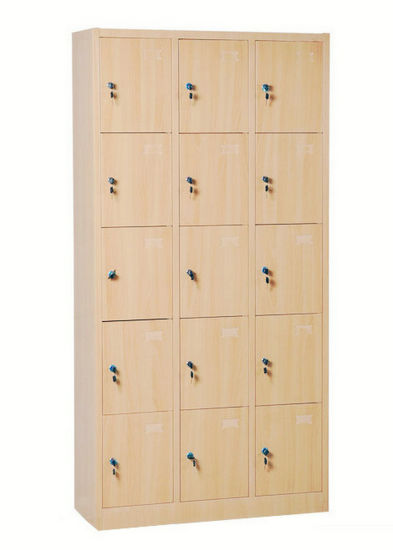18 Doors Metal Furniture Sports Gym Clothing Storage Cabinet Locker pictures & photos