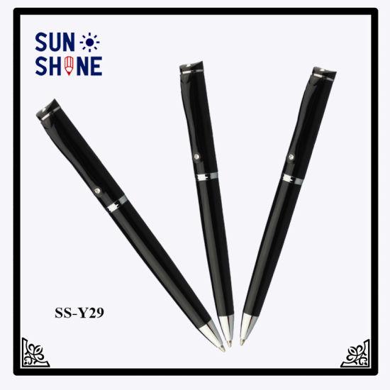 Office Stationery Metal Pen 1.0mm Refill Ballpoint Pen