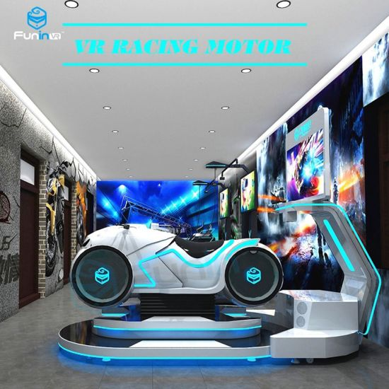 Top Sales Competitive Racing Game Machine 9d Vr Car Driving Racing Vr Race  Simulator