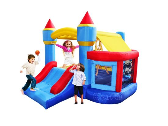 Inflatable Bounce House with Ball Pit Qb122s