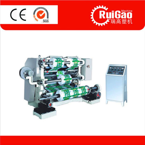 Lfq-B Series Vertical Film Slitting and Rewinding Machine Price pictures & photos