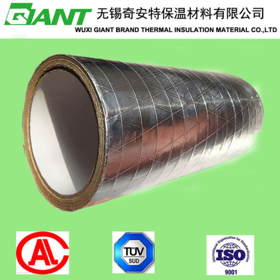 Aluminum Foil Thermal Insulation / Perforated Double Side Foil Scrim Kraft pictures & photos
