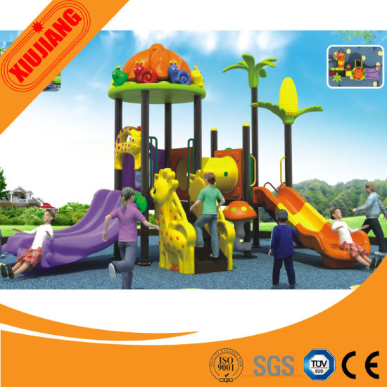 Kids Best Choose Outdoor Playground Plastic Fort Plastic Tubes Playground pictures & photos
