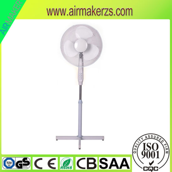 16inch Plastic Blade Cooling 16inch Cross Legs Stand Fan SAA/Ce/GS