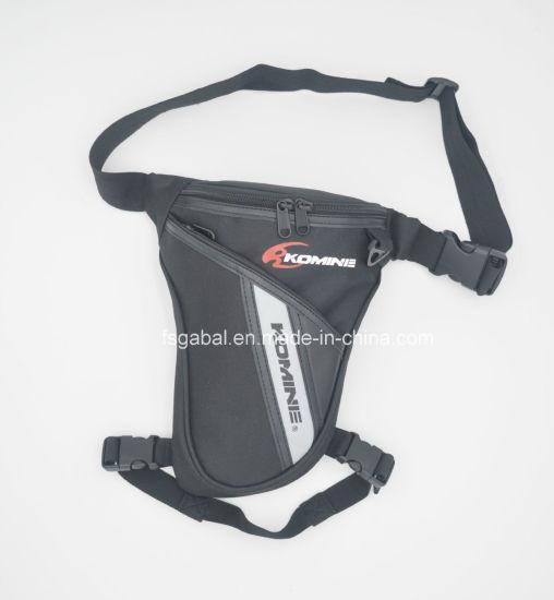 Komine Motorcycle Sports Waist Leg Bag With Reflective Straps