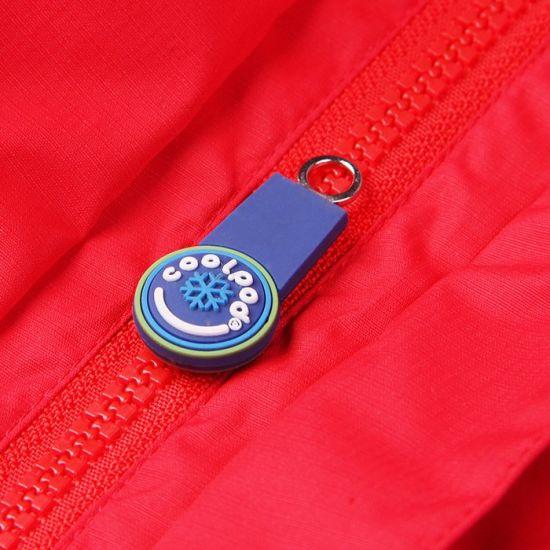 Customized Embossed Cute 3D Logo Soft PVC Rubber Zipper Pullers for Kids Wear