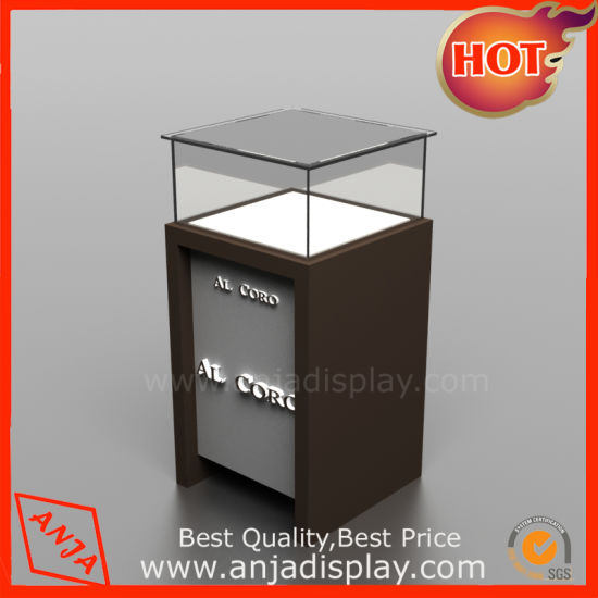 Shop Jewellery Display Counter Showcase /Glass Display Cases For Retail  Stores/Glass Tower Display Cabinet