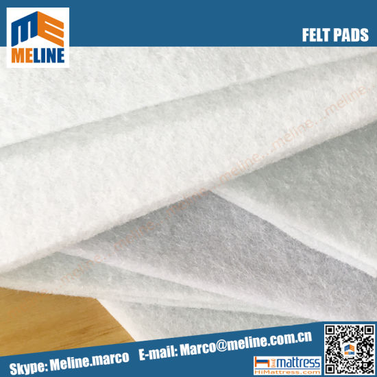 100 Polyester Needle Punched Nonwovens Felt Pad Mattress For And Sofa Cushion