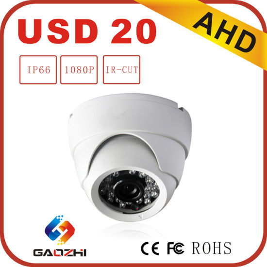 1080P Real-Time CMOS IR Dome Ahd Camera for Outdoor pictures & photos