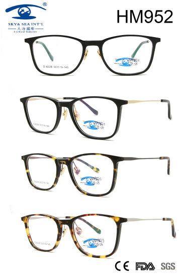 5d7e64faa2f 2018 latest Popular Fashion Frame Acetate Eyeglasses (HM952) pictures    photos