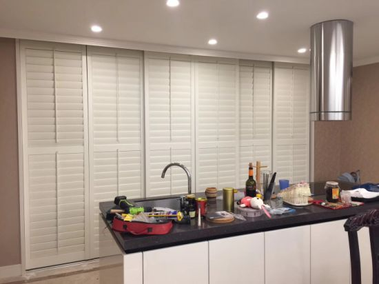 2018 Interior Wooden Shutter Blinds Indoor Plantation Shutters In Hangzhou