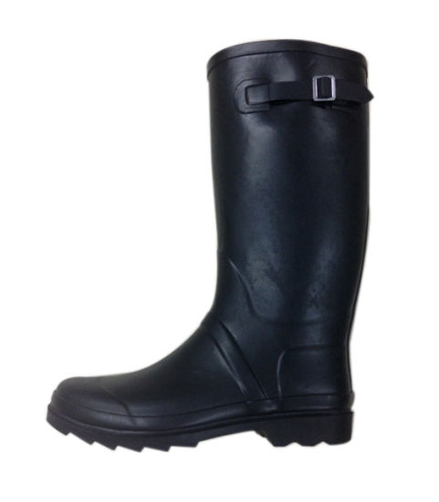 Ladies Black Rubber Boots for Raining Day