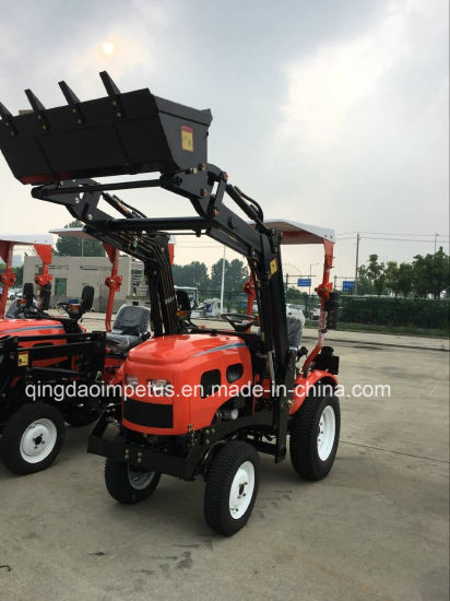 China 2018 Mini Tractor 16HP 4X4wd with Kohler Engine