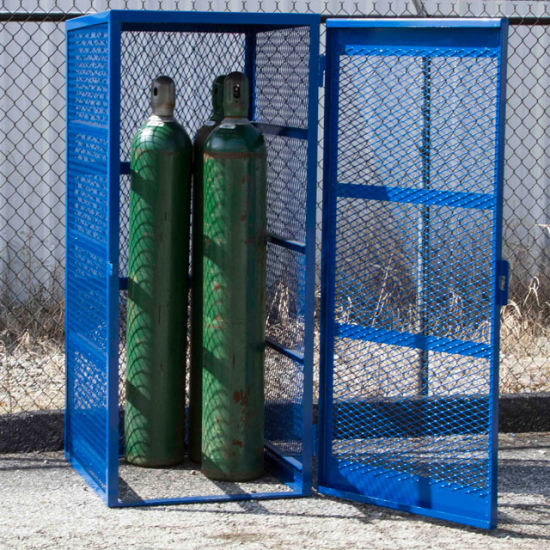 gas cylinder cages secure storage for gas cylinders - Gas Cylinder Cages