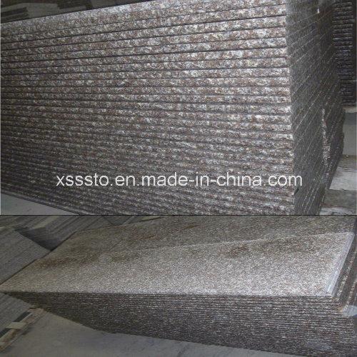 Flamed G664 Granite Tile Stair Step