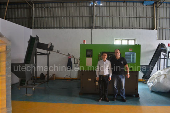 Automatic 2-Cavity 0.5L Pet Bottle Blow Moulding Machine pictures & photos
