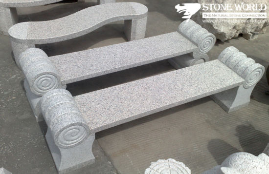 Natural Granite Stone Table & Chair for Garden Decoration (CT07)