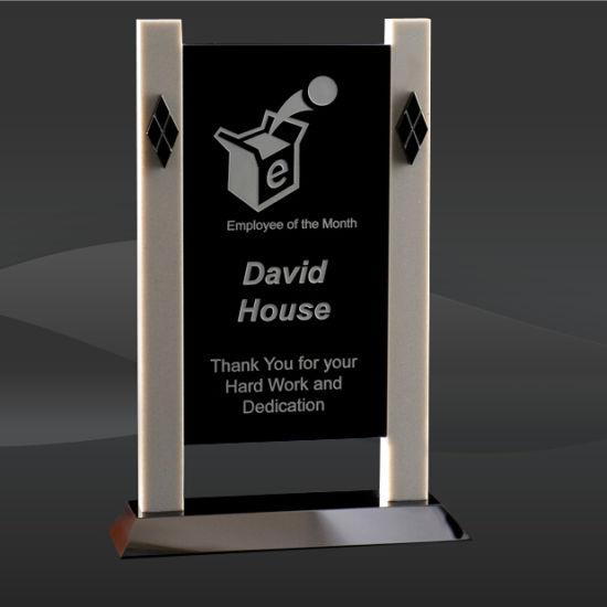 China Black Crystal Cabana Award (T-WCBA610) - China Award Trophy