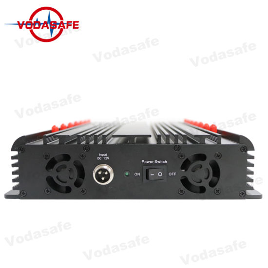 Omni Directional Antenna 35W Powerful 3G 4G Wimax Mobilephone Scrambler,  New Stationary GPS Signal Jammer/Blocker with 14 Antenna GPS WiFi VHF UHF  4G
