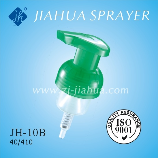 Fine Plastic Foam Pump with Clear Cover or Lock Switch (JH-10B)