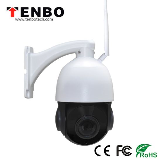 2.0MP 4X IR WiFi CCTV Mini IP PTZ Dome Camera pictures & photos