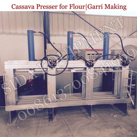 High Efficient Cassava Garri Hydraulic Press for Garri Production Line in  Nigeria
