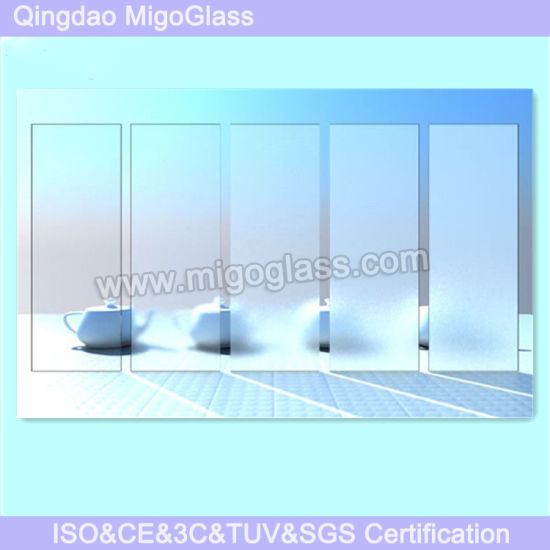 Colored Decorative Acid Etched Frosted Glass Price pictures & photos