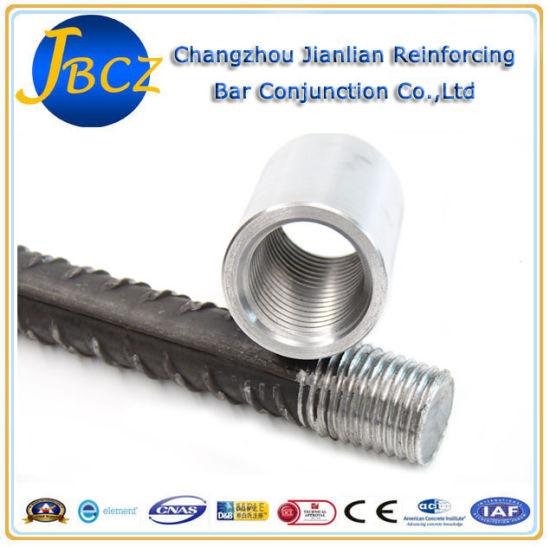 Carbon Steel Rolleri Machine Mexico: China Lenton Standard 12-40mm Rebar Coupling