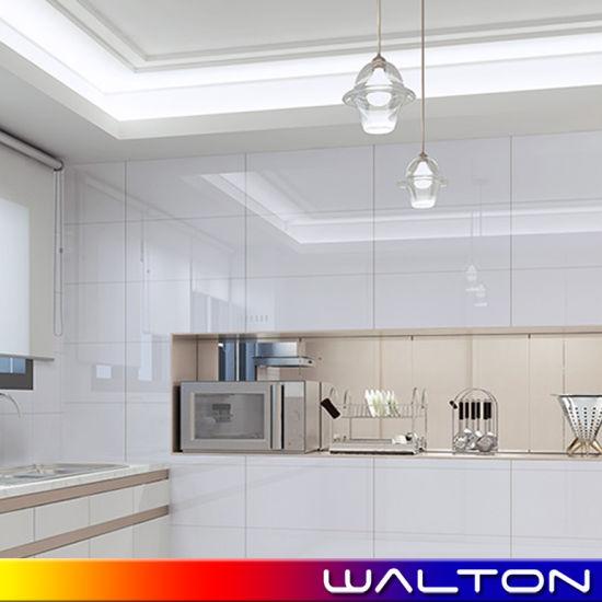 Building Material 300*600 300*450mm Glazed Ceramic Tile White Wall Tile (WT-36000)