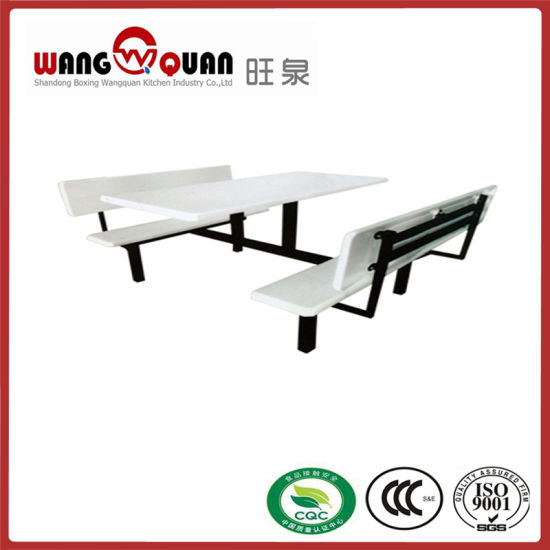 Cheap Dinner Table 8 Seats Plastic Banquet Desk pictures & photos