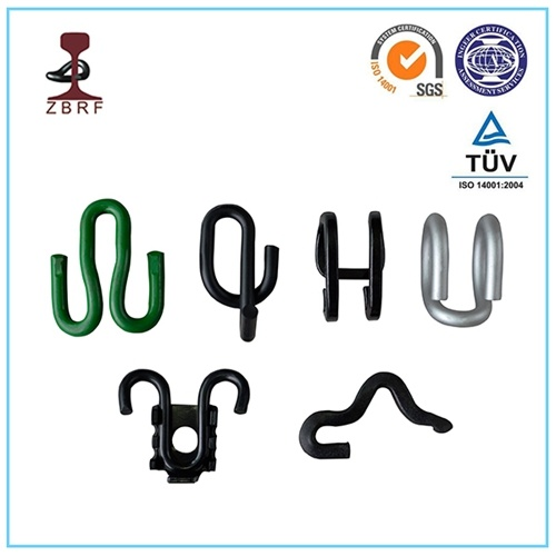 Gl/ O Type Rail Clips for Railway Fasteners