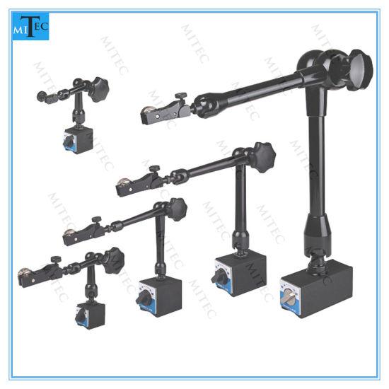 """Shars 1/"""" 0.001/"""" Dial Indicator Universal Magnetic Base Holder w// Fine Adjustment"""