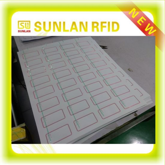 Free Samples Factory Price High Quality A4 Size 2X5, 3X8, 3X7, 4X8, 5X5 Layout RFID Hybrid Inlay Prelam for Smart Card (LF+UHF, LF+HF, HF+UHF) pictures & photos