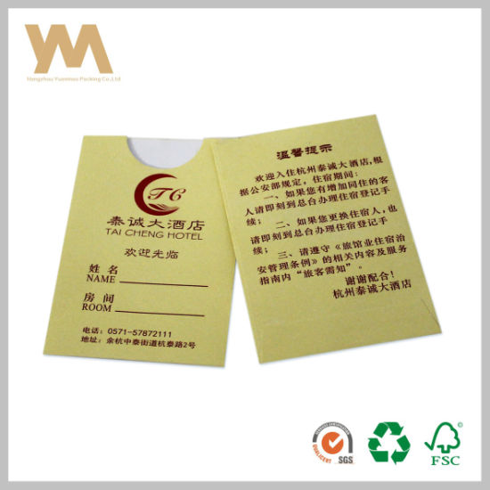 Folded Art Paper Printing Flyer and Leaflet