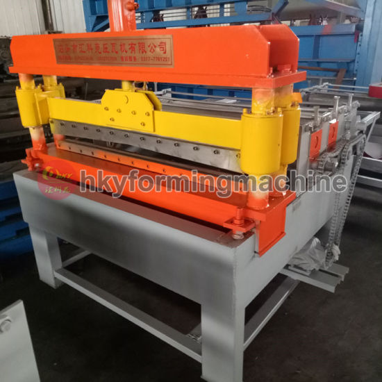 PLC Automatic Arched Roof Panel Curving Machine pictures & photos