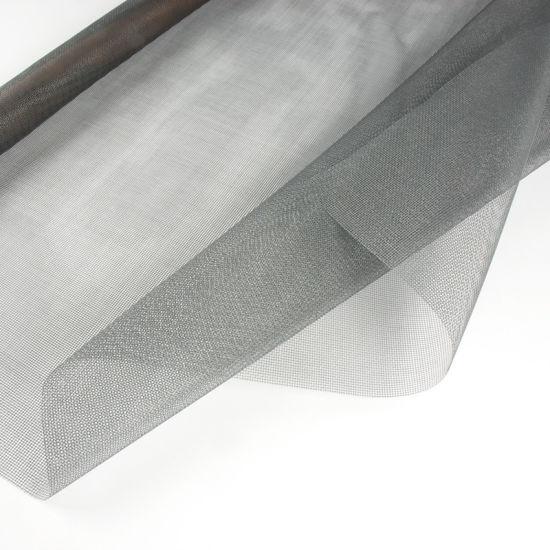 16 18mesh Black Aluminum Fibergl Window Insect Screen Mesh For Anti Mosquito