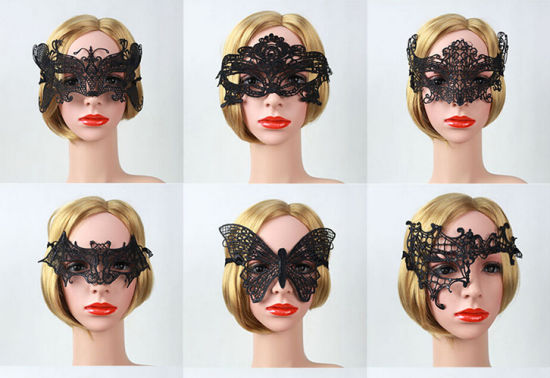 OEM Beautiful Design Lace Mask pictures & photos