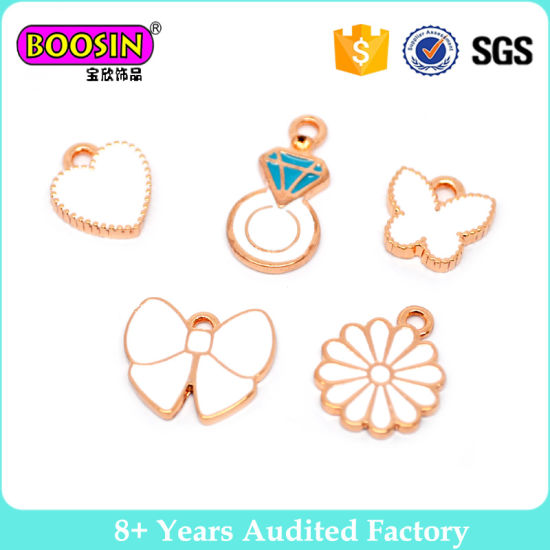 Fashion Rose Gold Plated Small Bracelet Charm for Kids #B106 pictures & photos