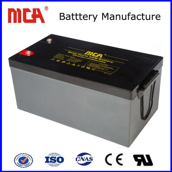 High Quality 12V 260ah Solar Gel Lead Acid Battery